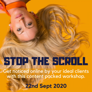 Stop the scroll workshop 22.9.20